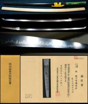 最高傑作大阪石堂の始祖初代在銘『備中守橘康廣』特別保存刀剣極上打刀拵え付