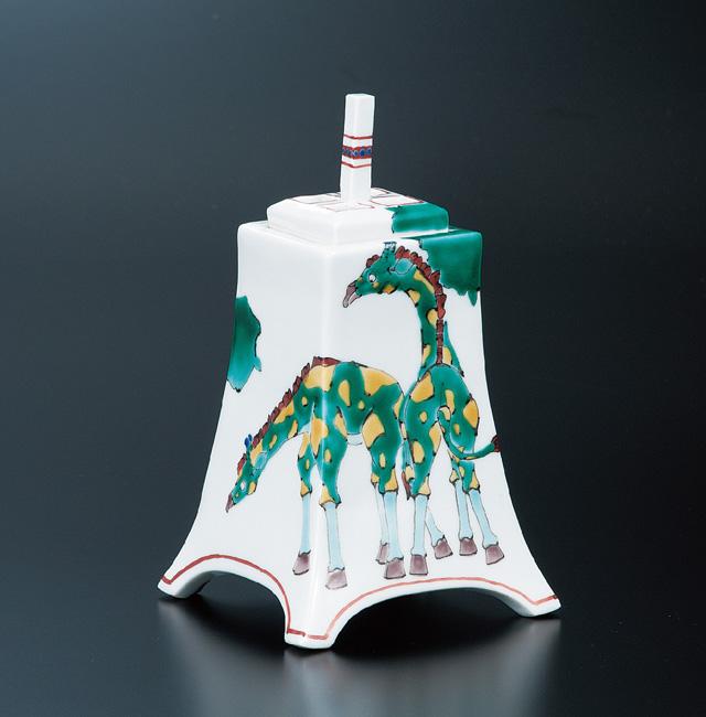 香炉(角タタラ) KIRINの図 [ 山近泰 ]