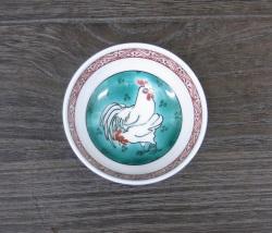 干支酒盃 酉(色絵)2005年製 [ 上出長右衛門窯 ]