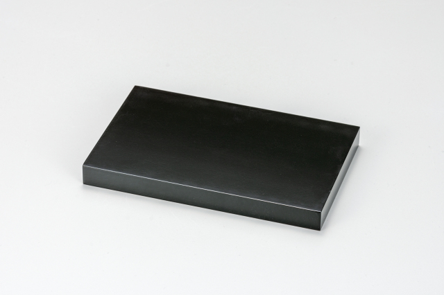長角板 天然木(6号~16号) [ 両面黒塗り ]