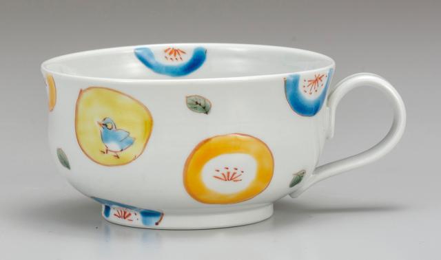 スープカップ 丸紋水玉 [ 川合孝知 ]