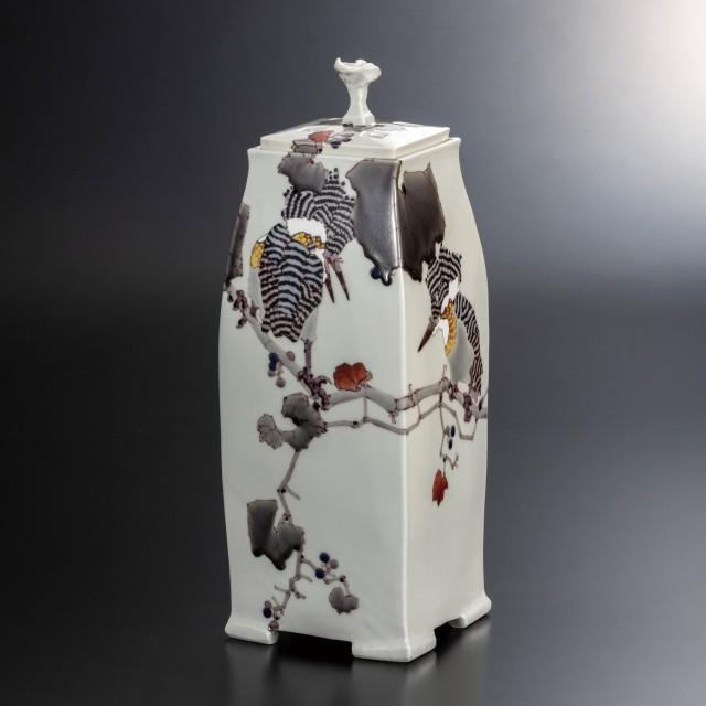 香器(12号) 山蝉の風景 香りの瓶  [ 武腰潤 ]