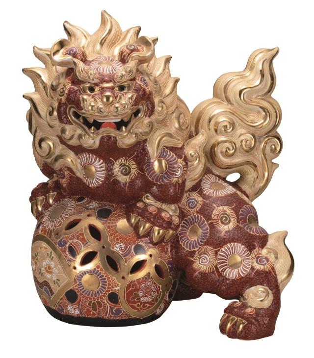 九谷焼 獅子