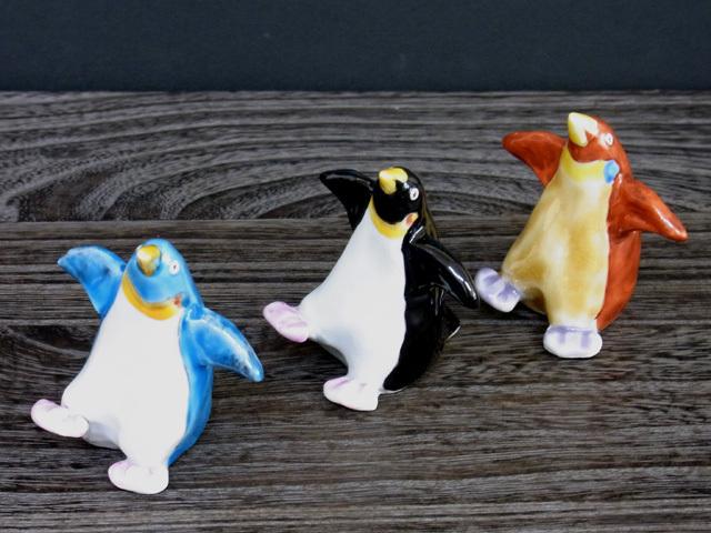 ペンギン(青/黒/赤) [ くたに動物園 ]