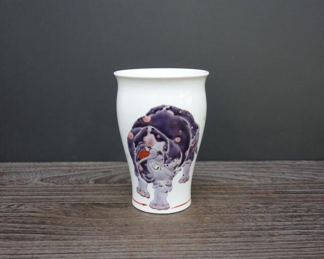 フリーカップ 犀の図 [ 山近泰 ]