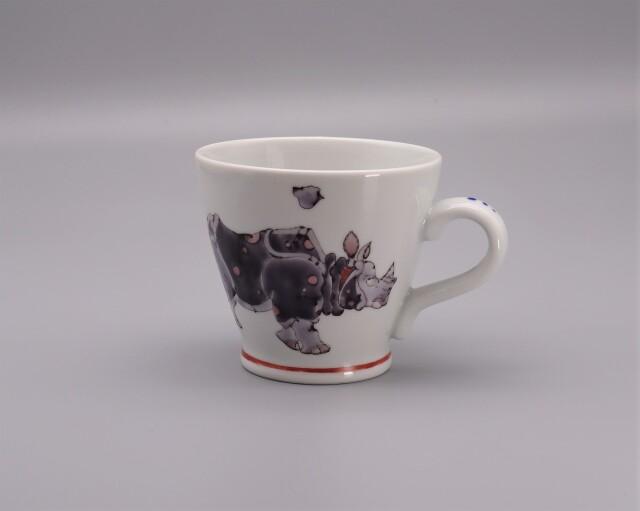 マグカップ 犀の図 [ 山近泰 ]