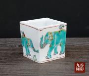 ロックグラス(角タタラ) 神象の図 [ 山近泰 ]