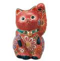 九谷焼 3.3号招猫 盛 5-1552
