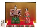 九谷焼 5.5号雛人形 細描盛 [ 陶幸窯 ]5-1670