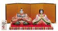 九谷焼 5号雛人形 細描盛 [ 陶幸窯 ]5-1671