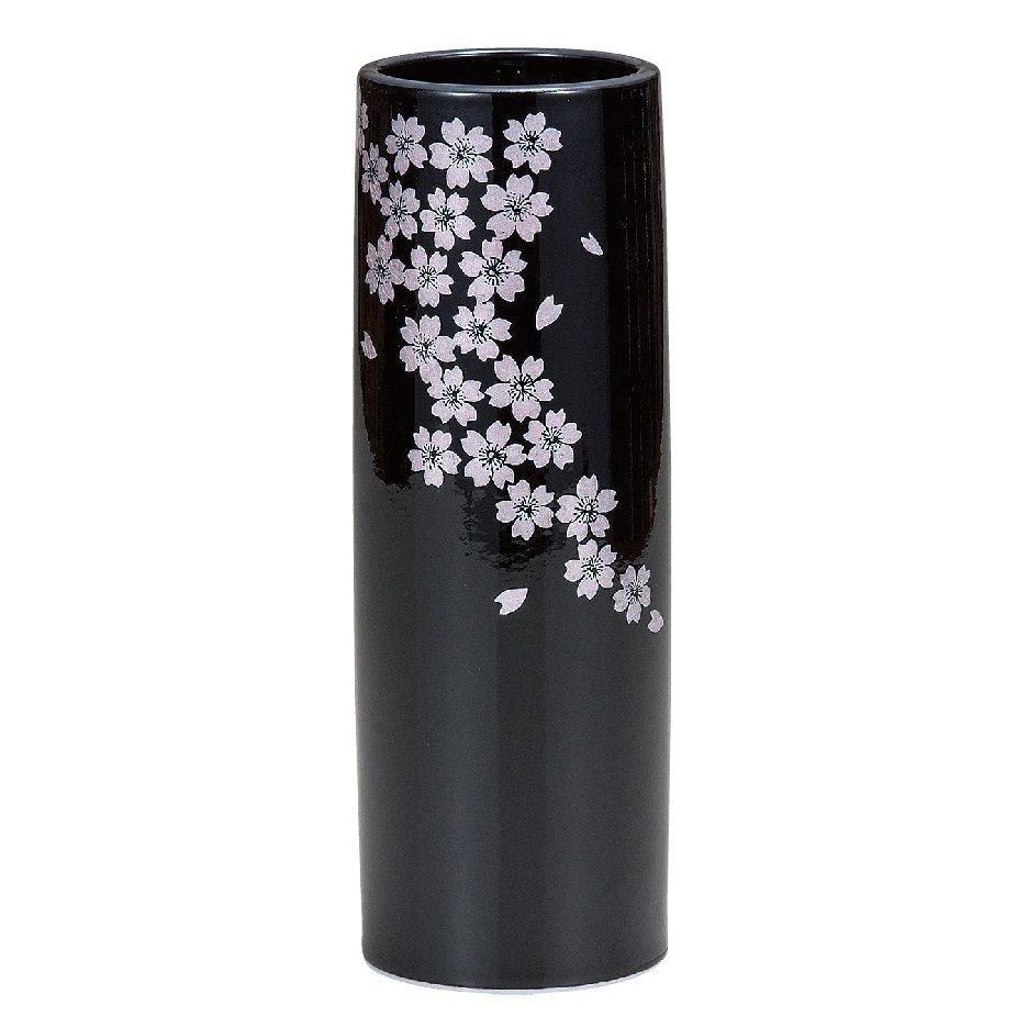 九谷焼ギフト ご贈答品 御祝い 九谷焼8号花瓶 釉彩桜