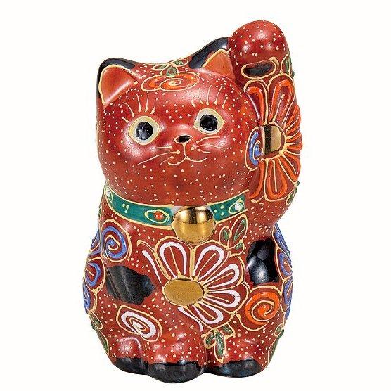 九谷焼ギフト ご贈答品 御祝い 九谷焼3.2号招き猫 盛