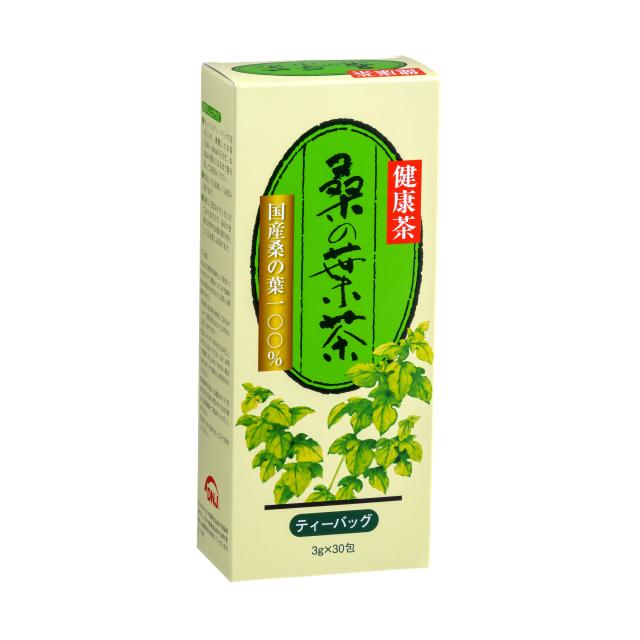 桑の葉茶ハードボックス正面