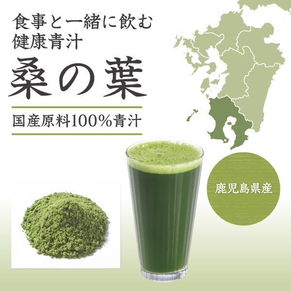 国産原料100%桑の葉青汁タイトル