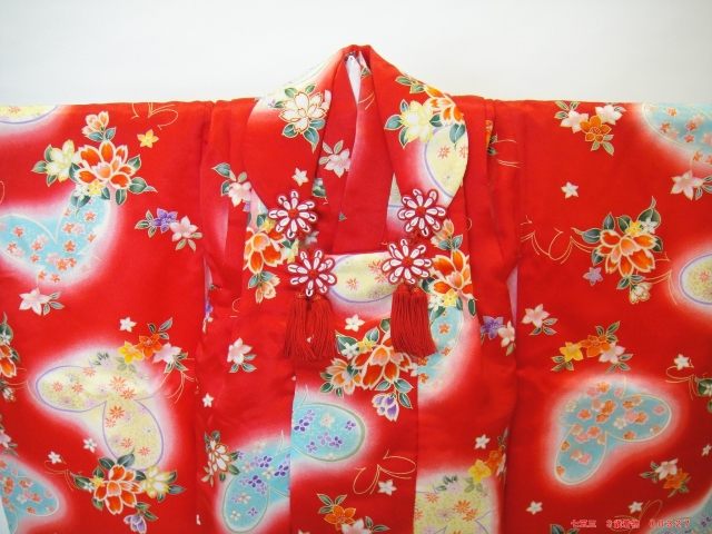 七五三着物レンタル こども着物 七五三 三歳着物 3歳 被布 お参り 前撮り 貸衣装 格安 かわいい