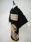 黒留袖レンタル 正絹 貸衣装 結婚式 親着物 高級 格安 おしゃれ 手刺繍 綺麗 若い 美しい 花