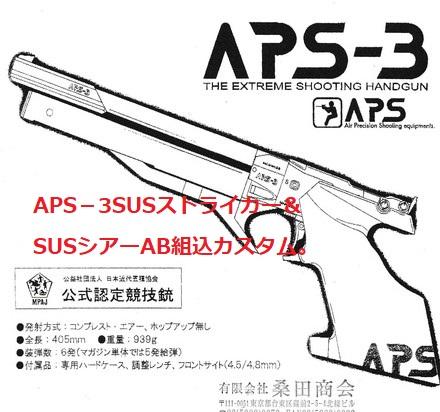 APS‐3SUSストライカー&SUSシアーAB組込カスタム。