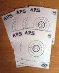 JASG/APS公式ブルズアイターゲット