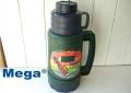 【40%OFF】Mega(水筒) メガソララガラス魔法瓶1.0L