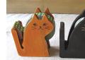 木製テープカッター CAT ナチュラル