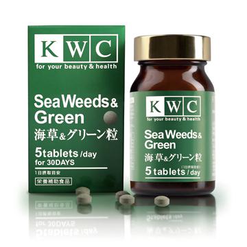 海藻&グリーン粒