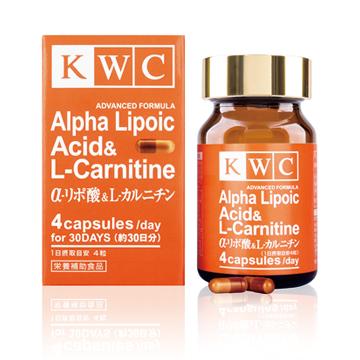 α-リポ酸&L-カルニチン ADVANCED FORMULA