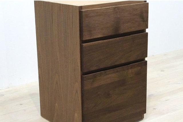 天然木・無垢材使用のユニット式デスクシリーズ システムデスク