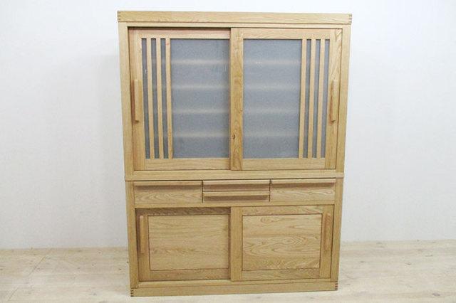和風カップボード・食器棚 然/ZEN