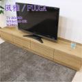 ■ 風雅/FUUGA テレビボード W2000(ホワイトオーク‐スリット)