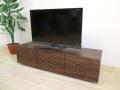 流れ杢が美しい 天然木・無垢材のテレビボード 風雅 ウォールナット