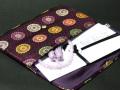 数珠袋 数珠入 金封念珠入 紫
