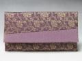 数珠袋 数珠入 正絹 名物裂 紫