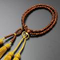 【数珠袋付き】【メール便で送料無料】 数珠・念珠 浄土真宗 八寸 正梅共仕立て 女性向き  SW-111