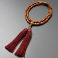 【数珠袋付き】【メール便で送料無料】 数珠・念珠 臨済宗 正梅 女性向き  SW-113