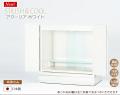 白い仏壇 アクーリア ホワイト【保証付き】日本製 国産 鏡面仕上げ LED ライト ( 仏壇 モダン )