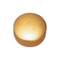 切立香合 木質性 金箔 2.2寸