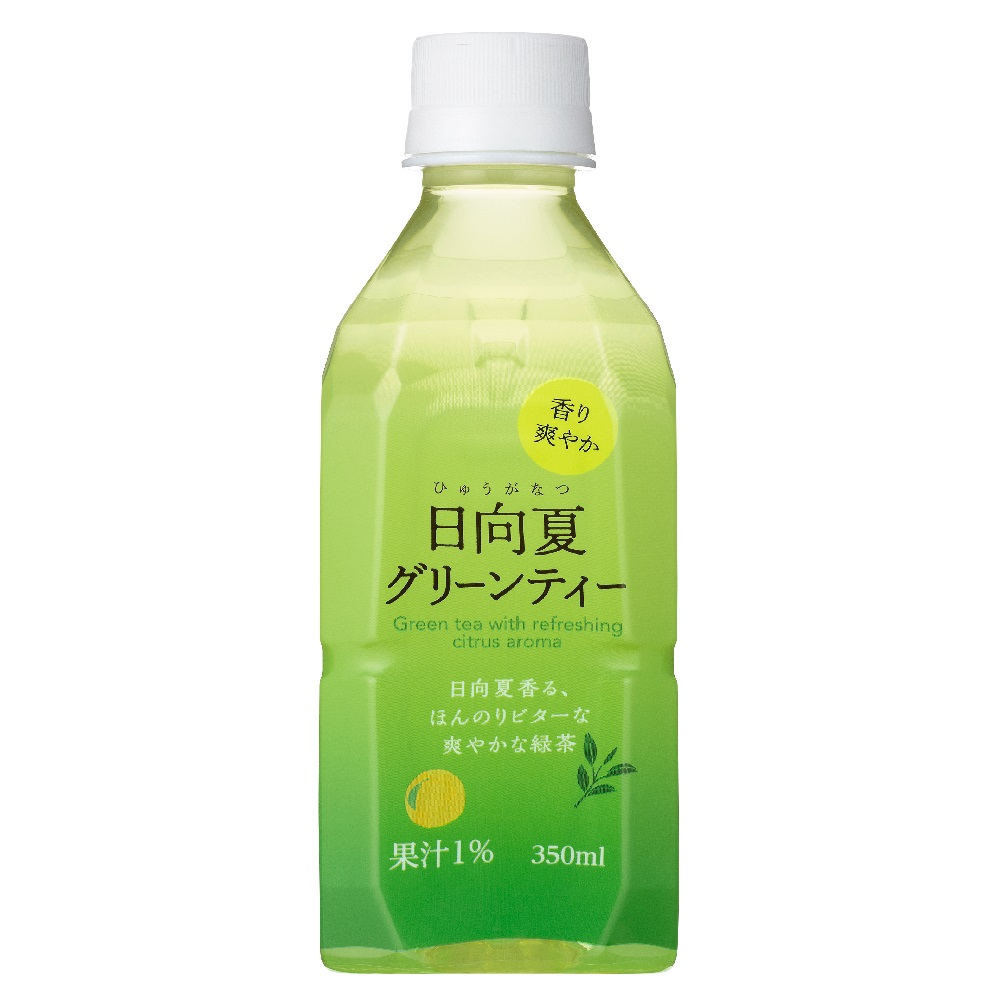 日向夏グリーンティー Hot&Cold 350ml