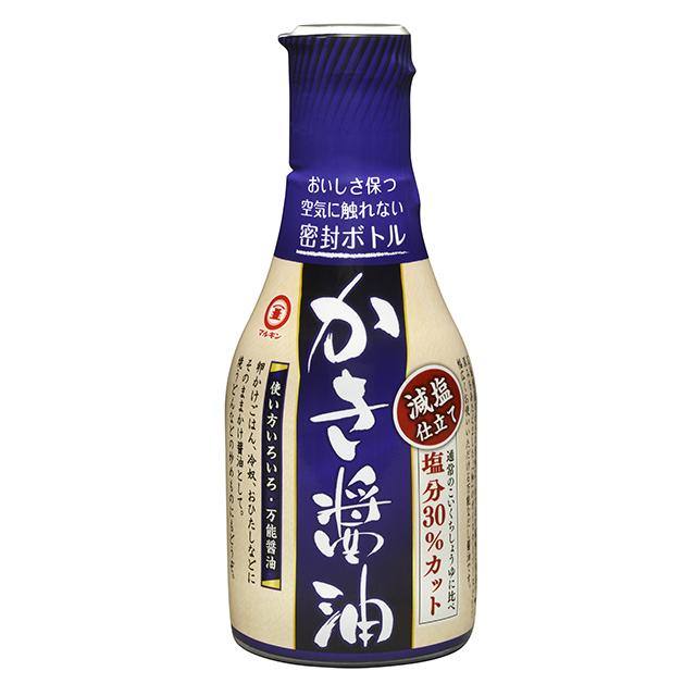 かき醤油減塩仕立て密封ボトル