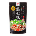 【盛田】鶏七味鍋つゆ ストレート(2~3人前):鍋つゆ<郷土味紀行>30300