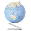 渡辺教具製作所  小型地球儀 WS(行政) No.1204(シルバー台)【在庫処分セール対象】