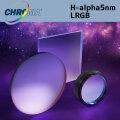 クロマ H-alpha5nm LRGB set:50mm角枠無しフィルター