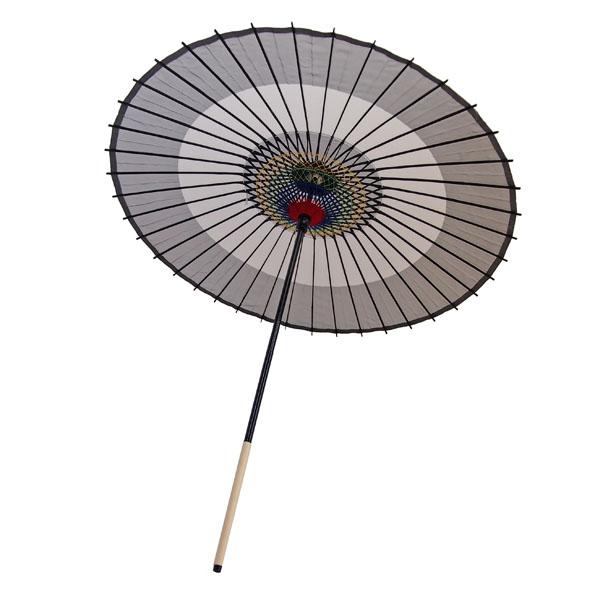 絹傘 助六 黒
