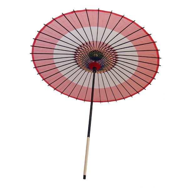 絹傘 助六 赤