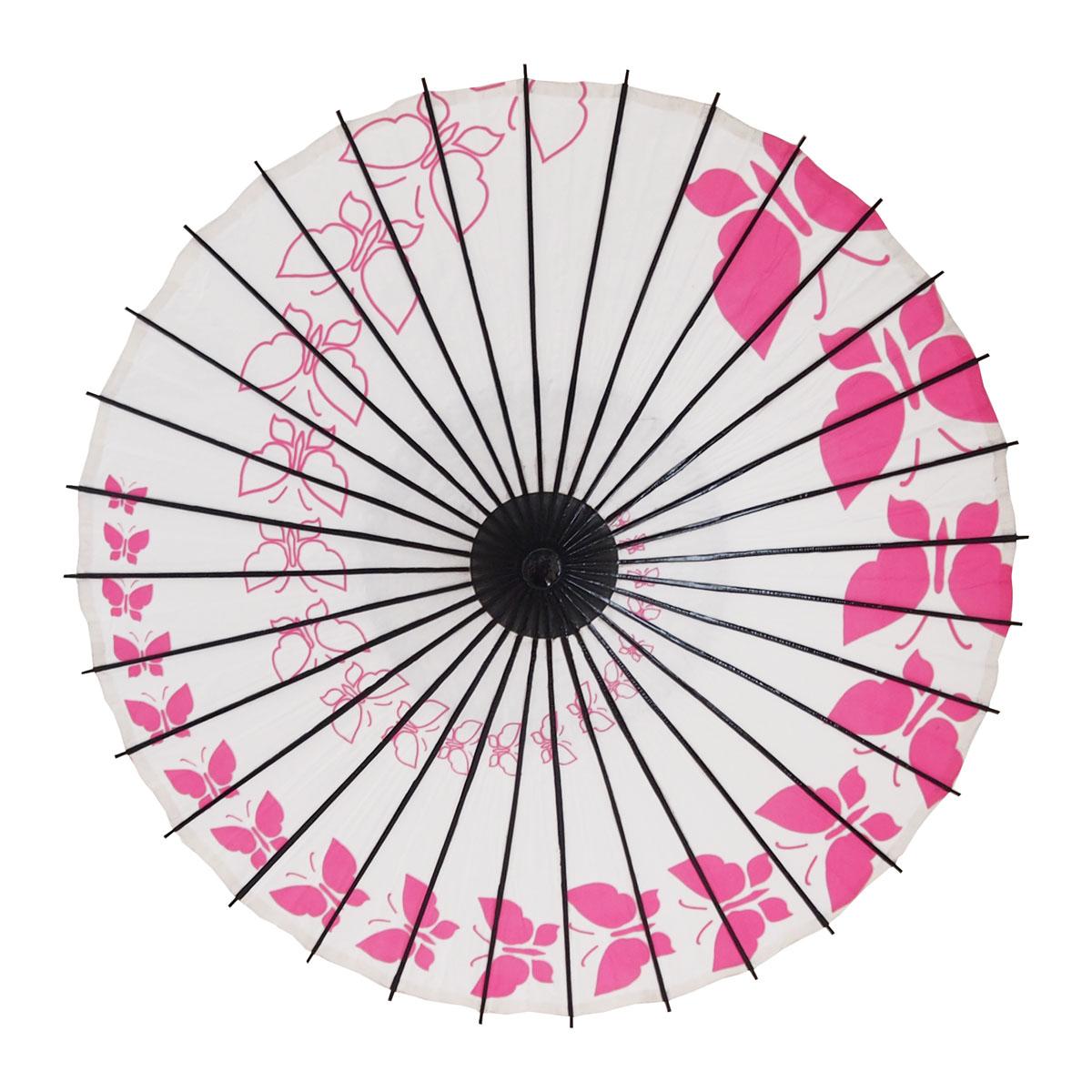 こども傘 蝶々 ピンク