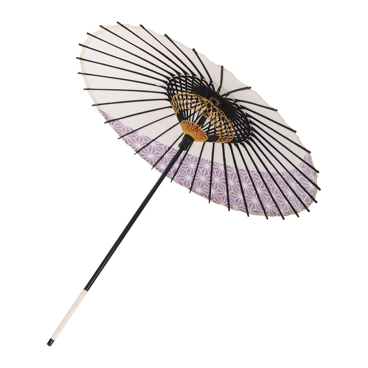 こども用和傘 麻月 紫
