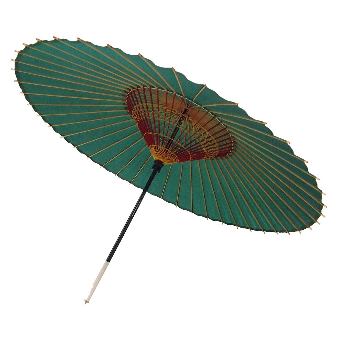 蛇の目傘 無地 黒