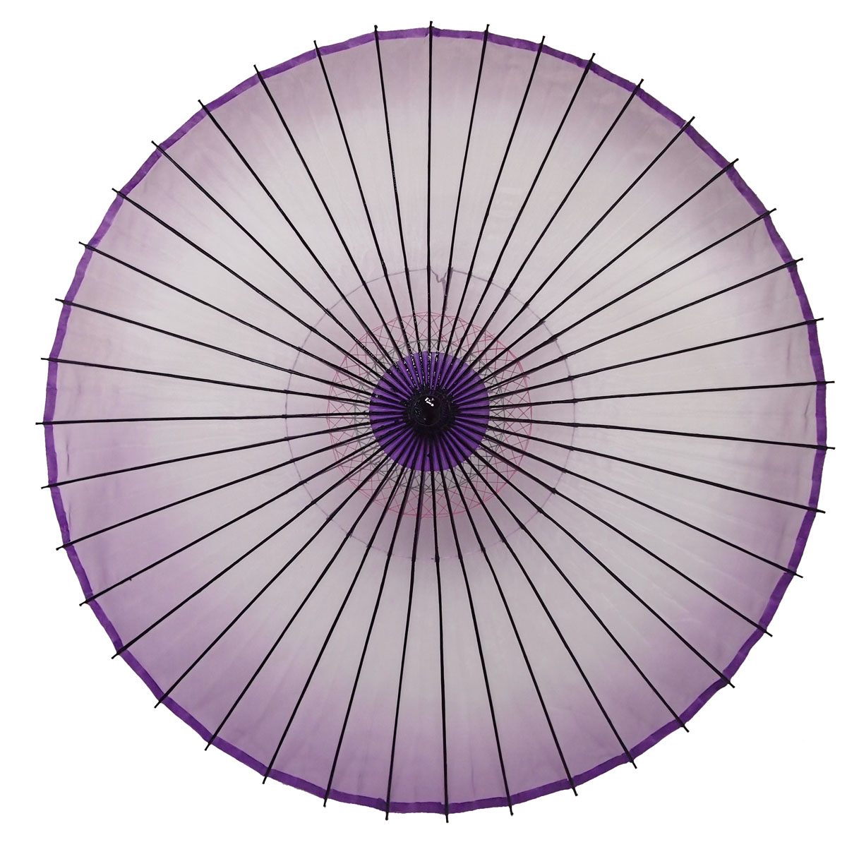 絹傘 ぼかし 紫