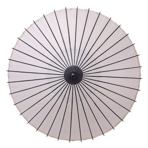 紙舞日傘 無地 白