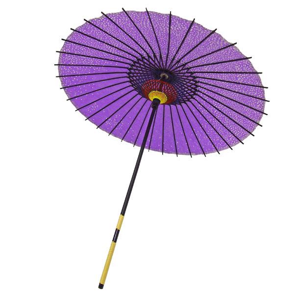 紙傘 満天桜 紫