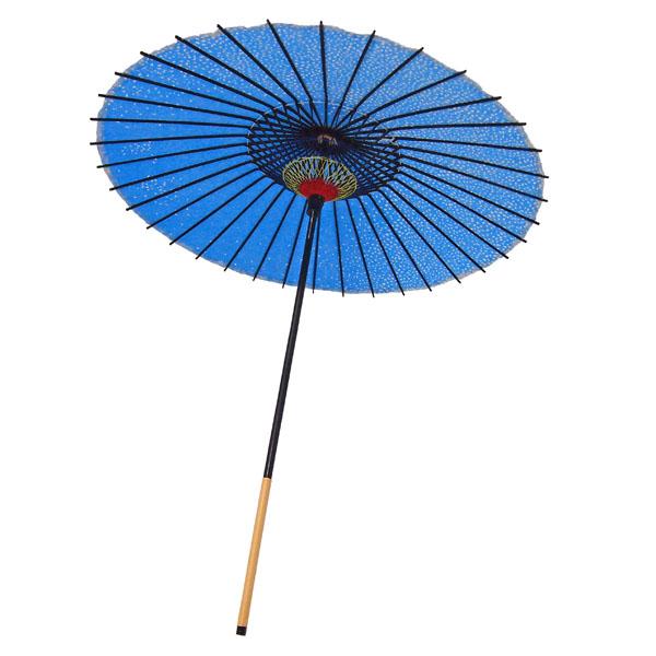 紙傘 尺5 満天桜 水色